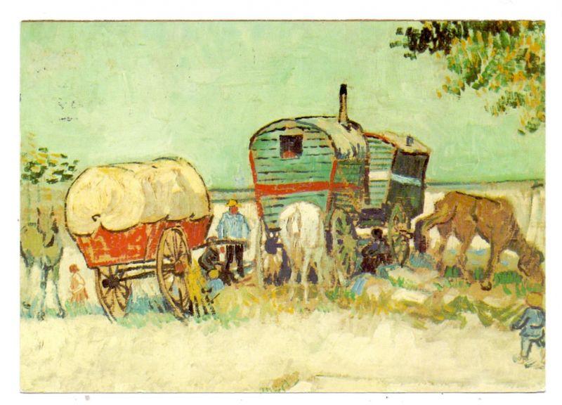 VÖLKERKUNDE / Ethnic - ZIGEUNER / Bohemiens / Gitan / Gypsies / Tzigane / Zingano - Gemälde Vincent van Gogh