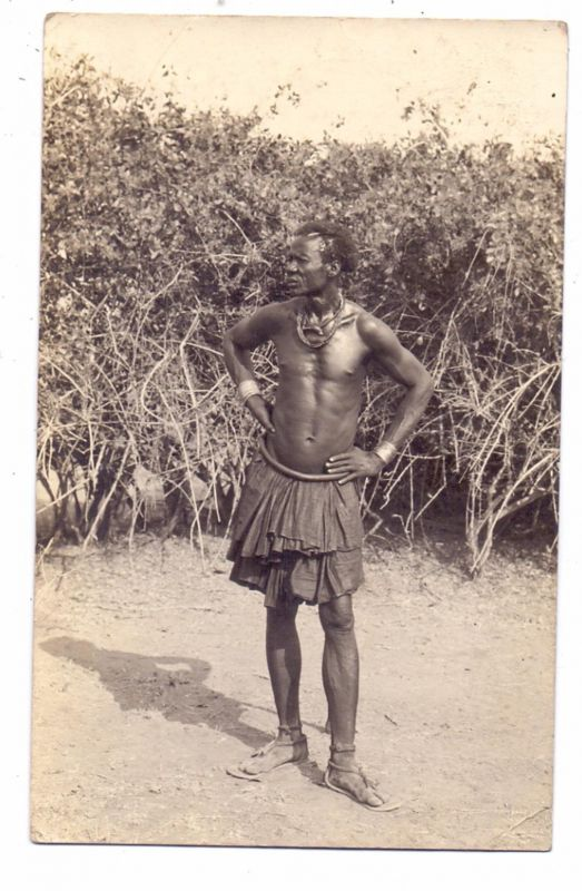 VÖLKERKUNDE / Ethnic - SOUTH WEST AFRICA, 1928, photo-pc