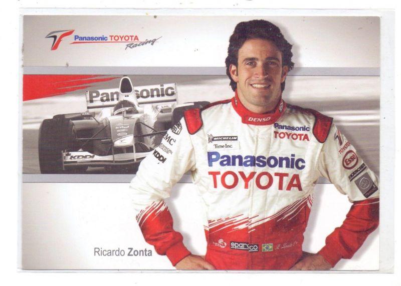RACING - FORMULA 1, RICARDO ZONTA / TOYOTA