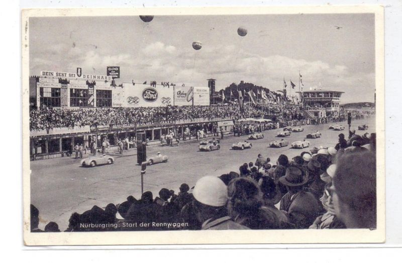 RACING - FORMULA 1, NÜRBURGRING (1955)