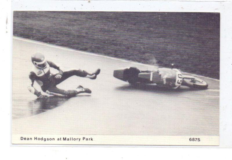 MOTORRAD - RENNEN, Mallory Parc 1987, DEAN HODSON