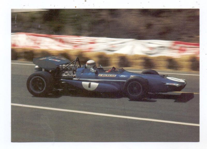 RACING - FORMULA 1, JACKIE STEWART, 1970, March-Ford, Clermont-Ferrand