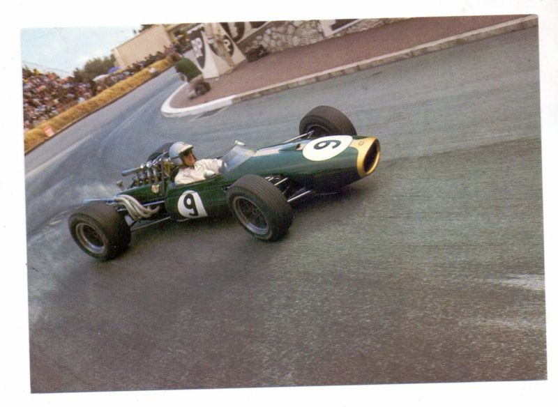 RACING - FORMULA 1, DENIS HULME, Brabham Repco, Monte-Carlo 1967
