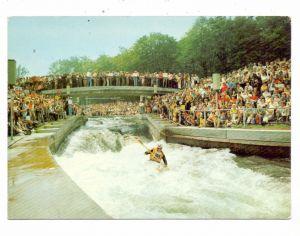 OLYMPIA 1972 AUGSBURG, Die Wildwasserstrecke