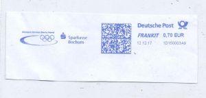 OLYMPIA- Sponsor Sparkasse Bochum, Freistempler