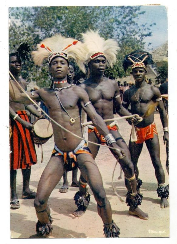 VÖLKERKUNDE / Ethnic - Medy group Dancers, Senegal