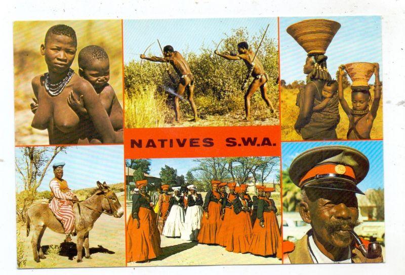 VÖLKERKUNDE / Ethnic, NAMIBIA, Natives S.W.A.