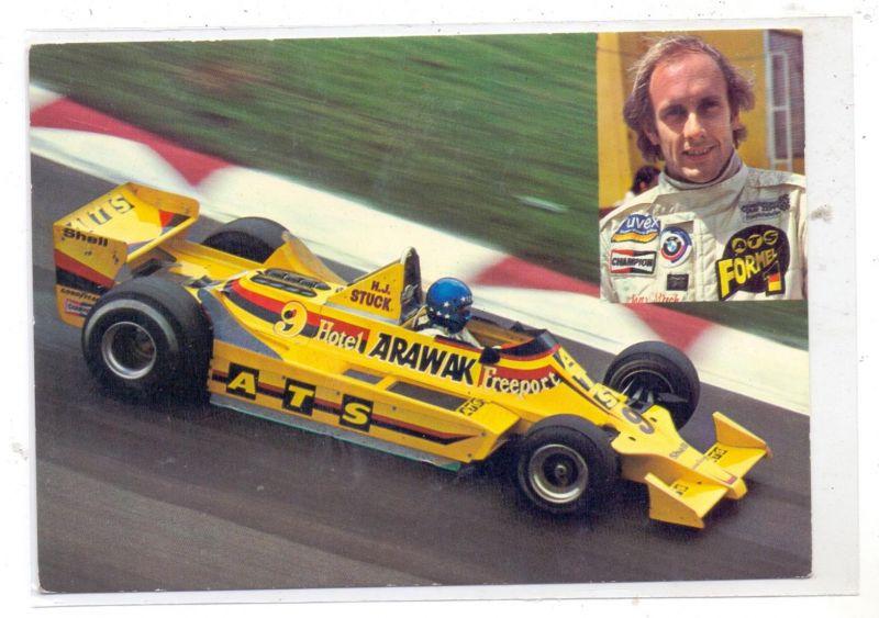 RACING - FORMULA 1, Hans Joachim Stuck - ATS