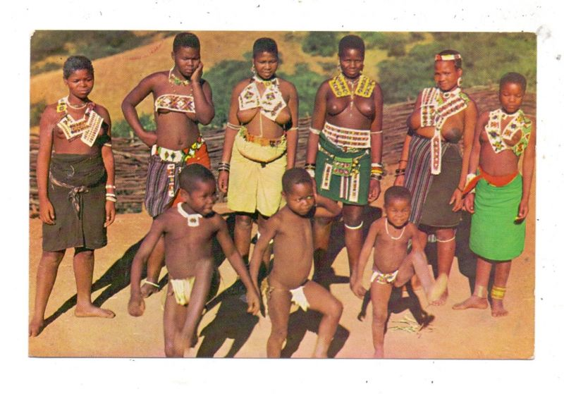 VÖLKERKUNDE / Ethnic, Südafrika