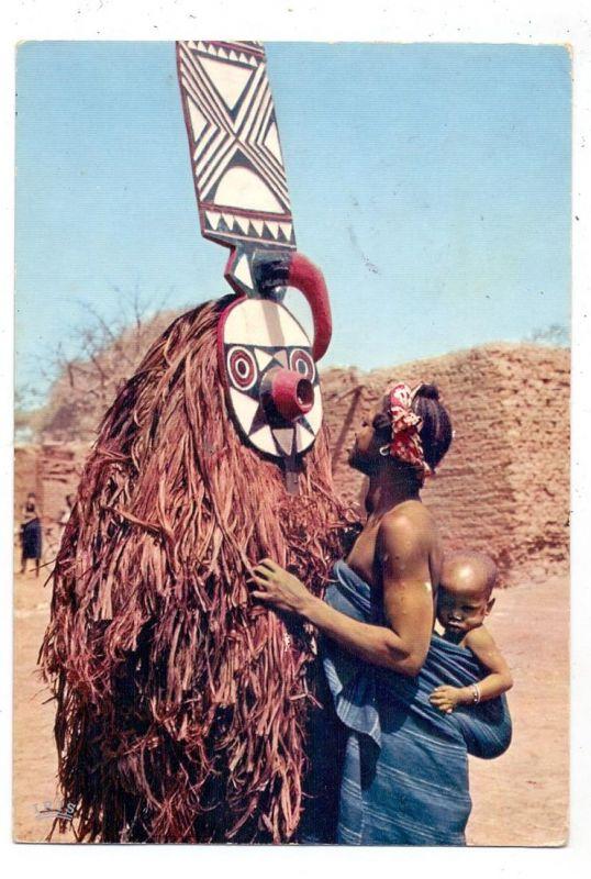 VÖLKERKUNDE / Ethnic, Masker / Masque CONGO