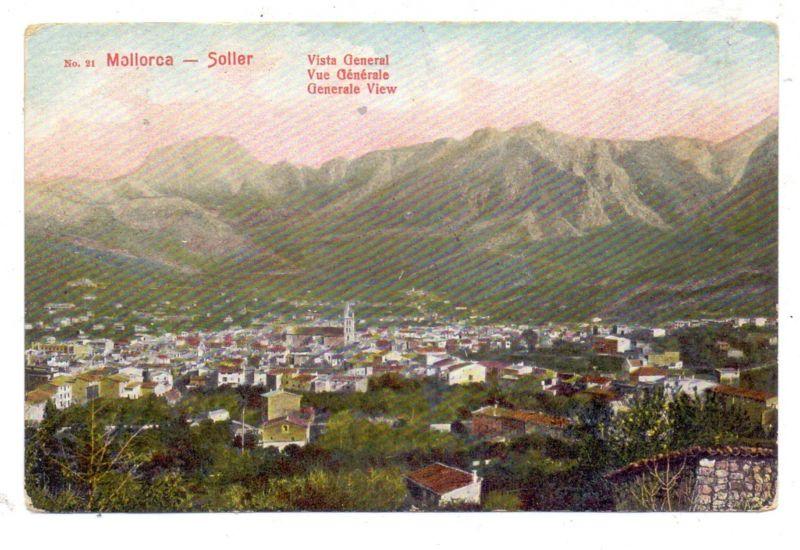 E 07100 SOLLER, Vista General 1910