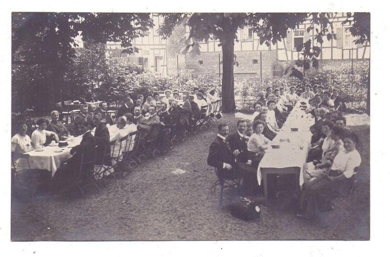 5064 RÖSRATH - HOFFNUNGSTHAL, Lehmbacher Hof, Biergarten, Photo-AK