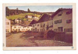 8102 MITTENWALD, Strassenpartie, Miethe-AK, Serie 1040