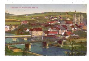 NIEDER-SCHLESIEN - WARTHA / BARDO, Panorama von Wartha, 1919