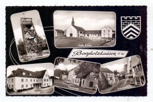 4807 BORGHOLZHAUSEN, Freistrasse, Jugendherberge, Katholische Kirche, Luisenturm