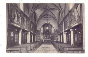 F 67500 HAGENAU / HAGUENAU - MARIENTHAL, Inneres der St. Josephskapelle, 1911, Verlag: De Tulp - Haarlem / NL