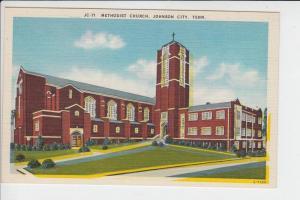 USA - TENNESSEE - JOHNSON CITY - Methodist Church