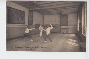 SPORT - FECHTEN - Fencing - Brussel-Kaserne du Petit Chateau