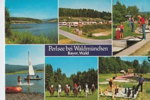 SPORT - SCHACH, Freiluftschach, open air chess - Minigolf   Perlsee / Waldmünchen