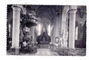 B 9160 LOKEREN, St. Laurentiuskerk, binnenzicht