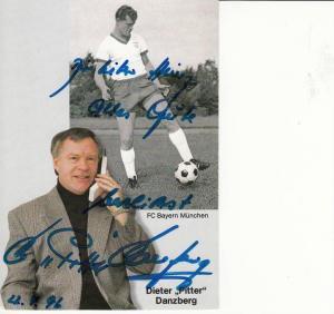 SPORT - FUSSBALL - BAYERN MÜNCHEN -  DIETER DANZBERG - Autogramm