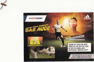 SPORT - FUSSBALL - ADIDAS - Werbe - Karte WM 2010