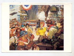 WERBUNG / ADVERTISING / PUBLICITE - COCA - COLA, Painting Benton Clark,