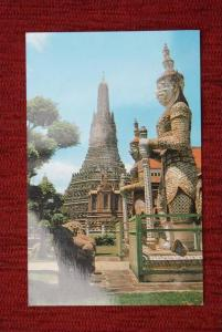 THAILAND - SIAM, Lakorn, Bangkok, Giant guard of the wat Arun