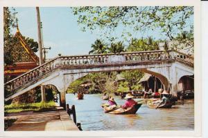 THAILAND - SIAM, Thonburi - bridge crossing a Khlong