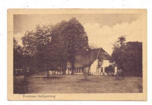 2814 BRUCHHAUSEN - VILSEN, Forsthaus Heiligenberg, 1920