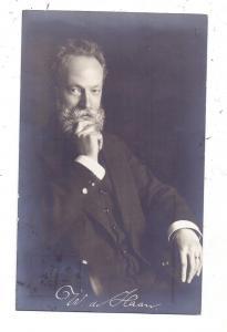 AUTOGRAPH - WILLEM DE HAAN, Niederländischer Dirigent und Komponist, u.a. Dirigent des Mozartvereins Darmstadt, 1919