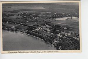0-1292 WANDLITZ, Luftaufnahme Strandbad 1936