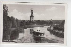 0-1500 POTSDAM, Blick auf Havel & Heiligegeistkirche, Ausfdlugsdampfer