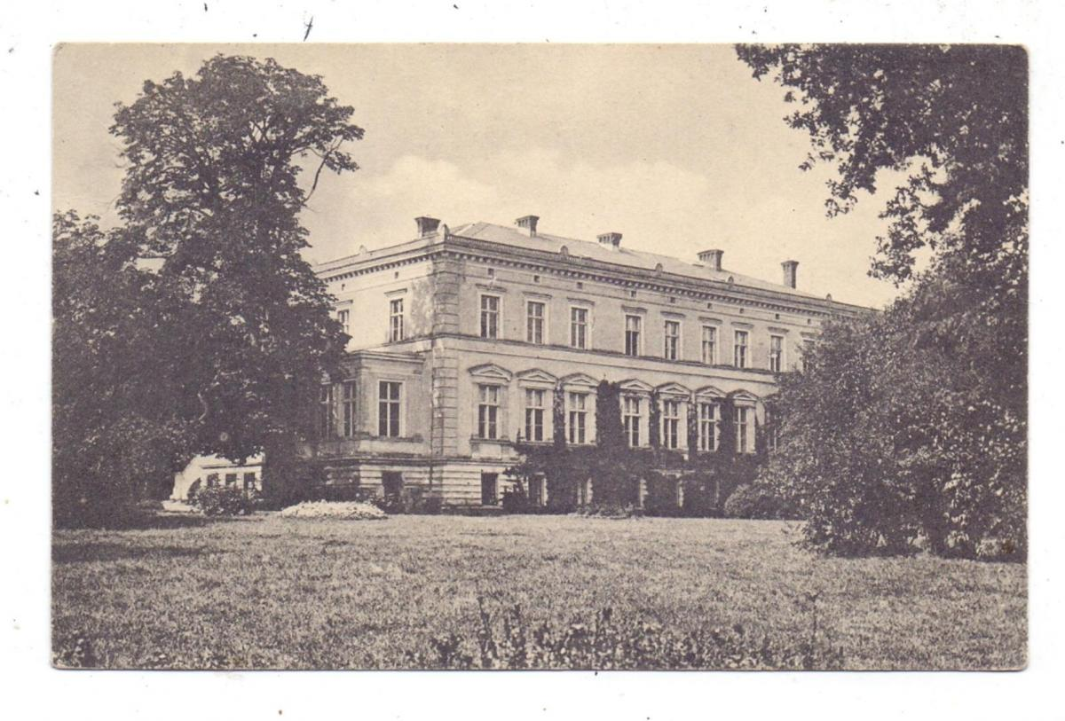 POMMERN - BELGARD-GRÜSSOW / BIALOGARD-GRUSZEWO, Schloss, Photo-AK, 1912, in Zarnefranz aufgegeben 0