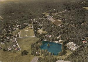 2115 HOLM - SEPPENSEN, Luftaufnahme, Badeanstalt & Campingplatz