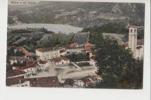 I 33092 MEDUNO - Pordenone, Ortsansicht , color, 1914