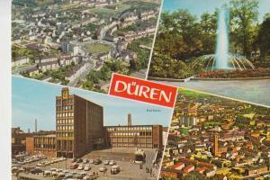 5160 DÜREN, 4-Bild-Karte