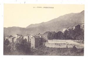 F 20229 PIEDICROCE, Corse 2B, Vue generale