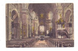 6968 WALLDÜRN, Inneres der Kirche, 1925, handcoloriert
