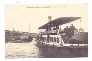 BINNENSCHIFFE - LOIRE, Nantes, Fähre, ca. 1903