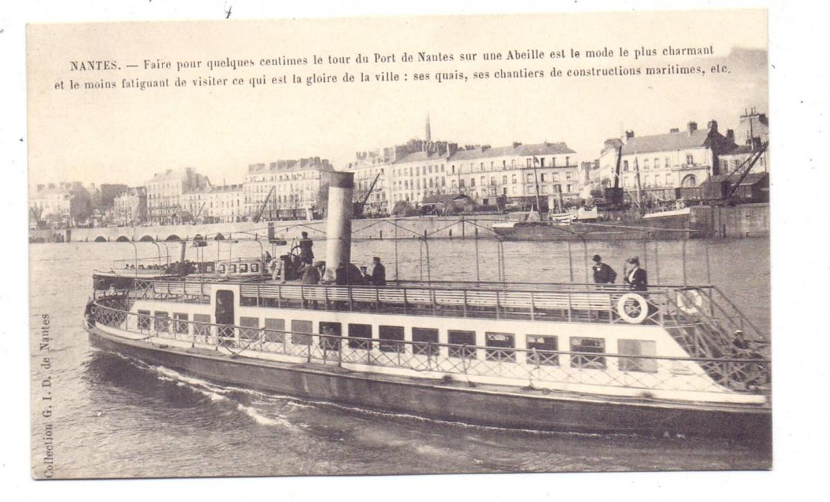 BINNENSCHIFFE - LOIRE, Nantes, Fähre 0