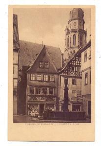 8630 COBURG, Steingasse mit Moritzkirche