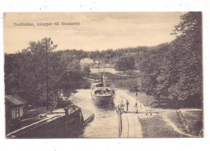 BINNENSCHIFFE - Trollhättan-Schleuse, Dampfer