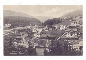 BÖHMEN & MÄHREN - SPINDLERMÜHLE / SPINDLERUV MLYN, Dorfansicht 1911