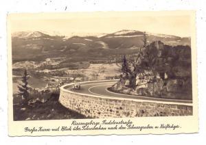 BÖHMEN & MÄHREN - SCHREIBERHAU / SZKLARSKA POREBA, Sudetenstrasse, Schneegruben, Reifträger