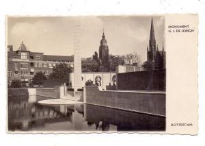 ZUID-HOLLAND - ROTTERDAM, Monument G.J. DE JONGH, 1935