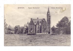 B 8730 BEERNEM, Kasteel Bloemendaal, 1917, deutsche Feldpost, Bayer. Feldbäckerei