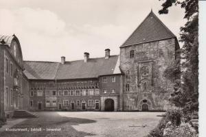 4840 RHEDA, Schloss - Innenhof, rücks. kl. Klebereste