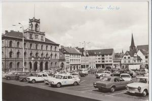 AUTO - Skoda - Trabant - Ford --- Weimar, Marktplatz