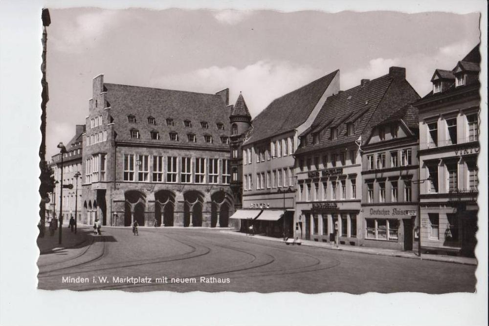 4950 MINDEN, Marktplatz Neues Rathaus 0